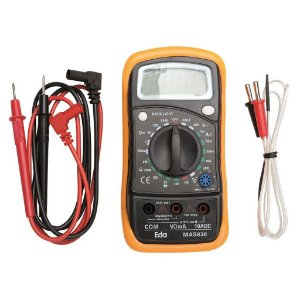 Multimetro Digital c/ Sensor Temperatura 9KD - Eda
