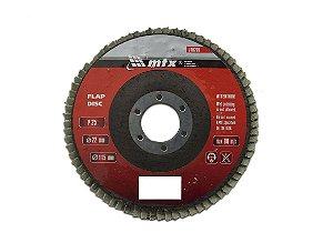 Disco de Desbaste tipo FLAP Grão 25 115 x 22mm MTX