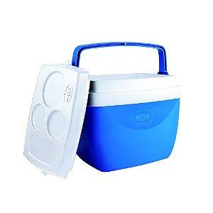 Caixa Térmica 12 Litros Azul - MOR