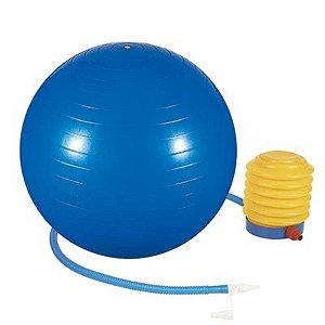 Bola de Ginástica / Pilates 65cm Azul Mor