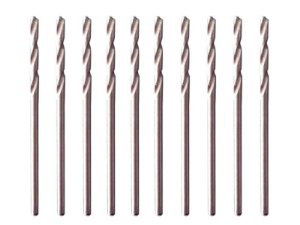 Brocas De Aço Rápido Polida P/ Metal 1,5mm Kit 10 Pçs 715159 Mtx