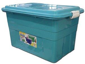 Caixa Organizadora 70 Litros Multiuso Verde Agraplast