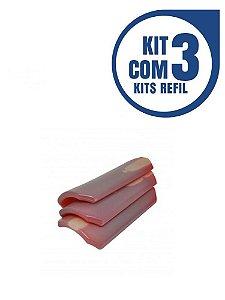 Kit 3 pçs Gel Congelante P/ Cervegela PP Flex Popular