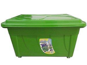 Caixa Organizadora 60 Litros Multiuso Verde Agraplast