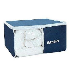Organizador de Edredons Nylon Azul Marinho 911 VB Home