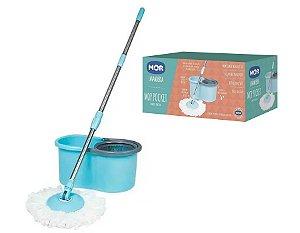 Esfregão Mop Pocket Limpeza Prática 8294 Mor
