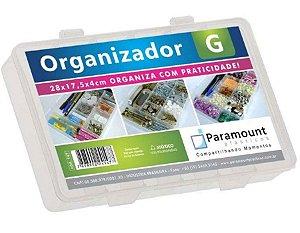 Box Organizador G 28 x 17,5x 4 cm Paramount