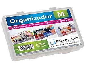 Organizador Box M C/ 14 Divisórias 4X14X23cm 174 Paramount