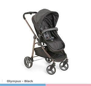 Carrinho de Bebê Olympus Black 1440BL Galzerano