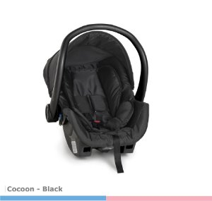 Bebê Conforto DRC COCCON BLACK 8181BL Galzerano