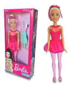 Barbie Bailarina Large Doll Grande 65cm Pupee