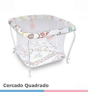 Cercado Para Bebê Quadrado Galzerano - Girafas
