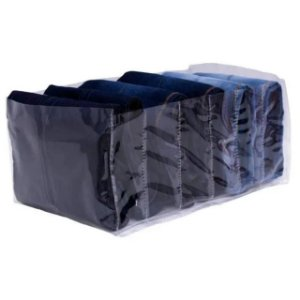 Organizador P/ Calça Jeans Transparente 860 Vb Home