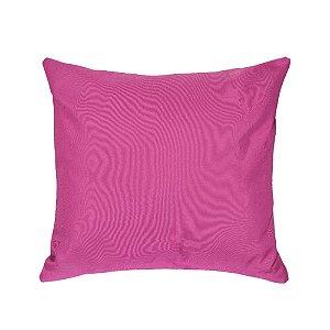 Almofada Decorativa P/ Sofá Lisa Rosa