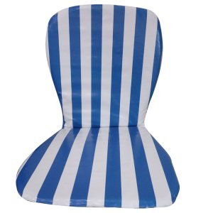 Almofada Cadeira De Praia e Plásticas Impermeável Listrada 123Organizei