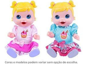 Boneca Babys Colection Comidinha Super Toys