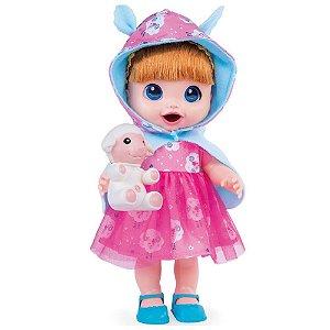 Boneca Babys Collection Conto de Fadas Ruiva Super Toys