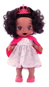 Boneca Babys Collection Contos de Fadas Negra Super Toys