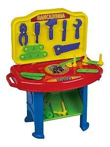Bancadinha de Ferramentas Brinquedo Infantil Heróis da Super Toys