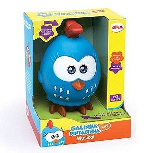 Brinquedo Infantil Galinha Pintadinha Mini Musical Elka