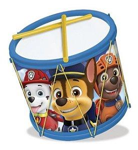 Brinquedo Infantil Instrumento Musical Bumbo Patrulha Canina