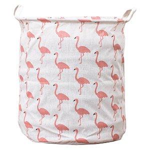 Cesto Organizador C/ Sustentação 37x43cm Flamingo XTAH33D VB Home