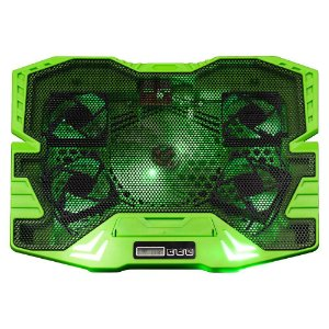 Cooler Gamer P/ Notebook Warrior Zelda  Led Verde Multilaser