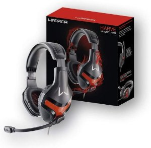 Headset Gamer Warrior harve P2 Red PH101 Multilaser