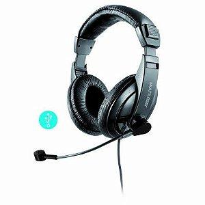 Headset Profissional Com Microfone e Usb Giant Ph245