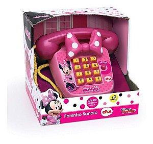 Telefone Infaltil Educativo com Musica Minnie 1061 Elka