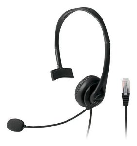 Headset Com Conector RJ09 P/ Telemarketing PH251 Multilaser