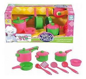 Brinquedo Infantil Menina Kit Paneleiro 9 Pçs Nig Brinquedos