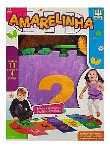 Tapete Amarelinha Infantil Em EVA 14 Peças Nig Brinquedos