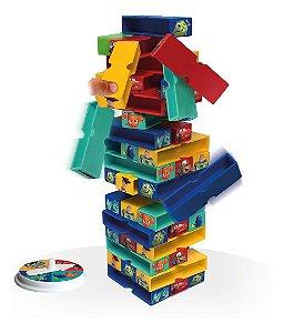 Jogo Brinquedo Infantil Terremoto Personagens Disney Pixar