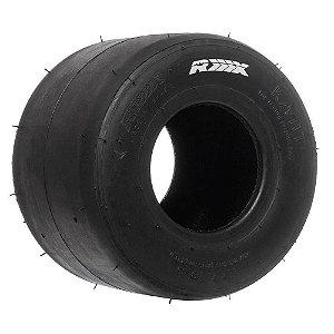 Pneu Traseiro p/ Kart 11x7.10-5 BRANCO RX Tires