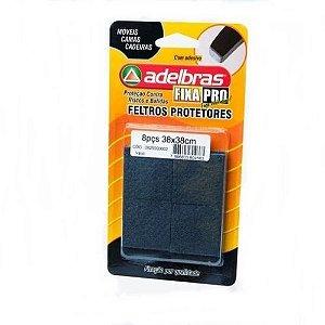 Adesivos Protetores Feltro Prático Quadrado 38x38mm Adelbras