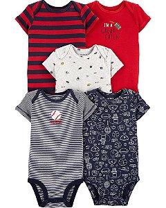 Conjunto de 5 roupas esportivas originais - Carter's (Tam. 18-24 meses)