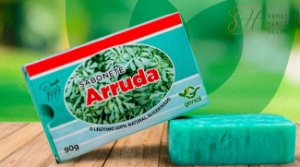 SABONETE NATURAL GLICERINADO DE ARRUDA 90G - GENIAL