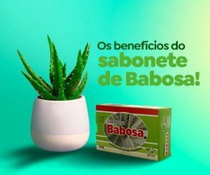 SABONETE NATURAL GLICERINADO DE BABOSA 90G - GENIAL