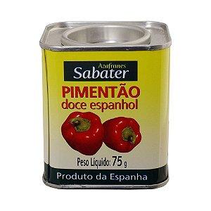 PIMENTÃO DOCE ESPANHOL 75G - SABATER