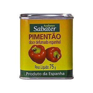 PIMENTÃO DOCE DEFUMADO ESPANHOL 75G - SABATER