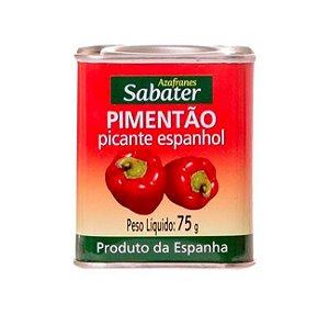 PIMENTÃO PICANTE ESPANHOL 75G - SABATER