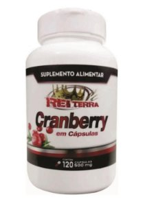 CRANBERRY 500MG 120 CÁPSULAS - REI TERRA
