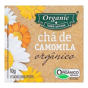 CHÁ ORGÂNICO CAMOMILA 10 SACHÊS - ORGANIC