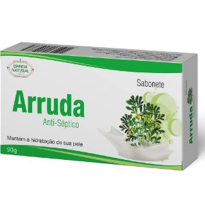SABONETE NATURAL ANTISSÉPTICO DE ARRUDA 90G - LIANDA NATURAL