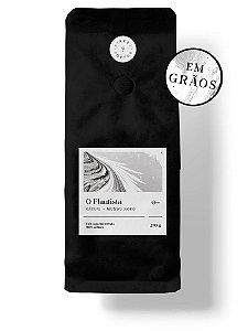 """CAFÉ ESPECIAL PREMIADO """"O FLAUTISTA"""" 250G - TORRADO EM GRÃOS"""