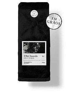"""CAFÉ ESPECIAL PREMIADO """"O REI AMARELO"""" 250G - TORRADO EM GRÃOS"""