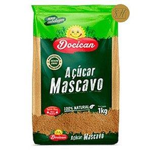AÇÚCAR MASCAVO 1KG - DOCICAN