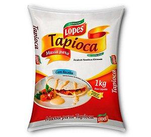 MASSA PRONTA PARA TAPIOCA 1KG - LOPES