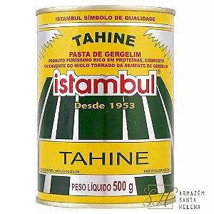 TAHINE PASTA DE GERGELIM 500G - ISTAMBUL